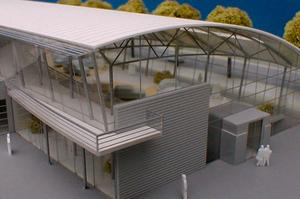 Modellbau Roemer Modellfoto Autohaeuser Gottfried Schultz