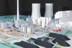 Modellbau Roemer Modellfoto Kohlekraftwerk