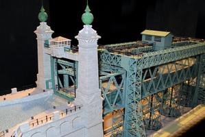 Modellbau Roemer Modellfoto Schiffshebewerk Henrichenburg