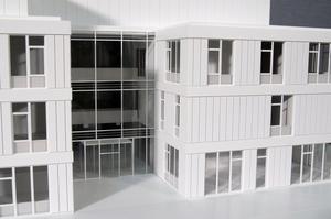 Modellbau Roemer Modellfoto Verwaltungsgebäude