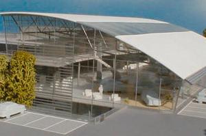 Modellbau Roemer Modellfoto Autohaus