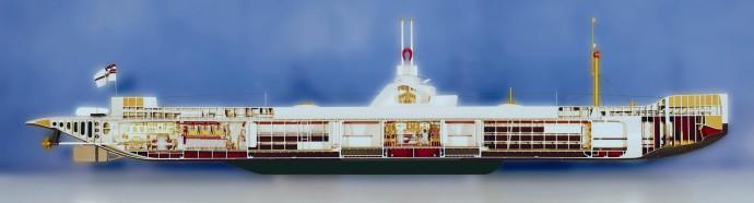 Modellbau Roemer Modellfoto U-Boot U 1