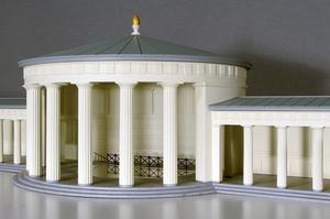 Modellbau Roemer Modellfoto ElisenbrunnenAachen