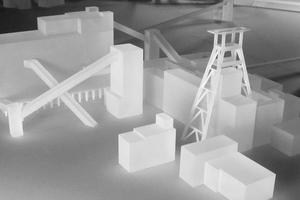 Modellbau Roemer Modellfoto Zeche Zollverein