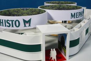Modellbau Roemer Modellfoto Messestand Mephisto