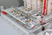 Modellbau Roemer Modellfoto Hochregallager